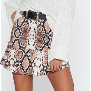 Nasty Gal Mini Skirt
